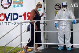 У Флориді кілька днів поспіль реєструють понад 10 тис. нових хворих на COVID-19