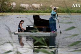 Французи дають концерти на воді