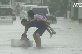 Зливи в Японії посилюватимуться, десятки людей загинуло