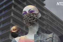 У Нью-Йорку дизайнерські маски для обличчя доповнюють образи й показують статус