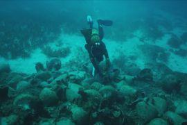 У Греції дайвери зможуть поплавати біля уламків корабля, який затонув у V столітті до нашої ери