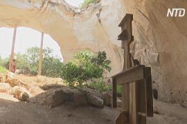Стародавні печери перетворили на сучасну галерею