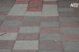 У Гані виробляють плитку з пластикових відходів