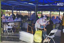 У китайському Шеньчжені масово тестують на COVID-19 через новий спалах