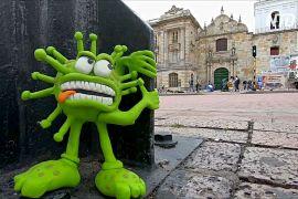 Пластилінові фігурки допомагають колумбійцеві порушувати важливі проблеми суспільства