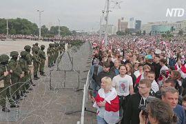 Протести в Білорусі поки проходять відносно мирно