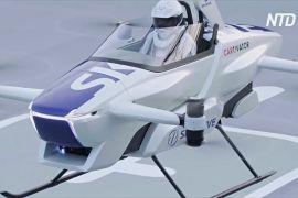 Японський стартап уперше випробував літальне авто з людиною на борту