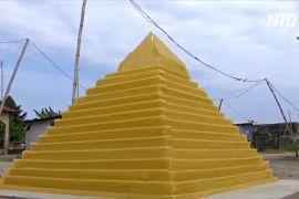 Макаронне мистецтво: нігерієць створює зі спагеті архітектурні мініатюри