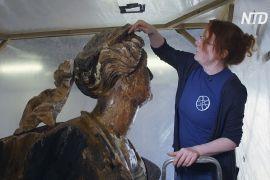 Носові фігури старовинних кораблів показали на виставці в Англії