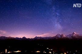 Італійська долина стала одним із найліпших місць для споглядання нічного неба