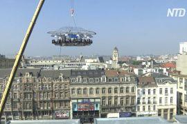 Брюссельський ресторан «Вечеря в небесах» знову працює