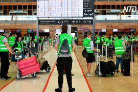 «Аеропорт-катастрофу» тестують перед урочистим відкриттям