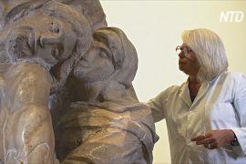 На реставрацію скульптури Мікеланджело знову можна подивитися наживо