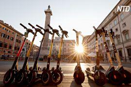 У Римі стає дедалі більше електросамокатів