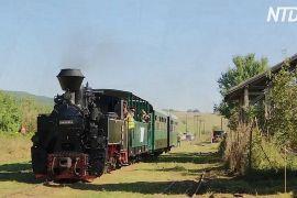 Румунські волонтери поновили старовинну вузькоколійку