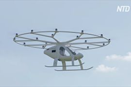 У Франції випробують нове безпілотне аеротаксі VoloCity