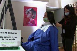 Волосся — не сміття: благодійне стриження у Версалі