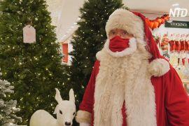 Різдвяний сезон у Лондоні: до універмагу Selfridges прибув Санта-Клаус