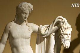 Античні скульптури з приватної колекції показали в Римі