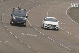 У Великій Британії випробовують безпілотні авто, під'єднані до мобільного зв'язку 5G