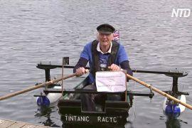 80-річний британський майор плаває на човні та збирає гроші для госпісу