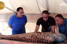 У некрополі Саккара знайшли ще понад 80 давньоєгипетських саркофагів
