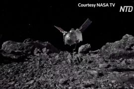 Історична місія: апарат OSIRIS-REx узяв зразки ґрунту з астероїда Бенну
