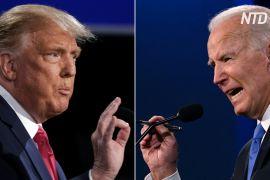 Дональд Трамп і Джо Байден зустрілися на останніх дебатах перед виборами