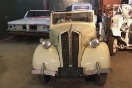 Єгиптянин зібрав понад сто ретроавтомобілів