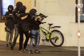 Теракт у Відні: троє загиблих, 14 поранених, нападники втекли