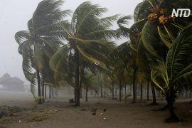 Ураган «Ета» ослаб до тропічного шторму