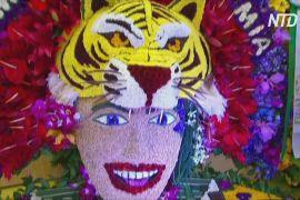 Квітковий фестиваль у Колумбії: легендарна процесія відбулася попри пандемію
