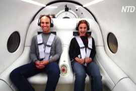 Вакуумний поїзд Hyperloop Ілона Маска вперше випробували з пасажирами