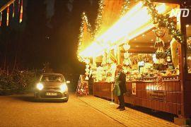 Різдвяний ярмарок для автомобілістів: як у Баварії обійшли карантинні обмеження