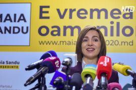 На виборах у Молдові перемагає опозиційний проєвропейський кандидат Мая Санду