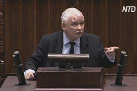 Качинський звинуватив опозицію в підтримці протестів проти заборони абортів