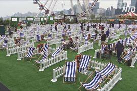 У Гонконзі відкрився парк розваг, де враховано необхідність соцдистанціювання