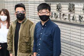 Суд у Гонконзі залишив під вартою трьох відомих активістів
