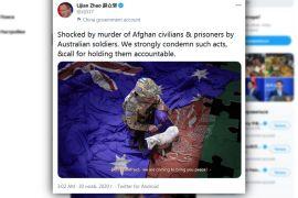 Австралія вимагає від Китаю вибачень за фейкове фото у твіттері