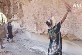 Тисячолітні наскельні малюнки в Австралії відкрили для туристів