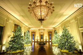 Білий дім продемонстрував різдвяні декорації