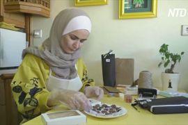 Сирійка сама навчилася робити шоколад і мріє про світове визнання
