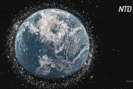 Європейське космічне агентство візьметься за прибирання орбітального сміття