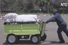 Самозарядні електровізки економлять сили жителям Кенії