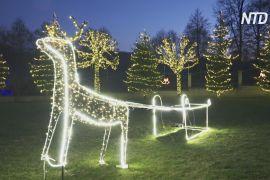 Різдвяні вогні дарують надію жителям Косова
