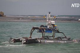 Робот-катамаран дослідить рекордно швидку ерозію на півдні Австралії