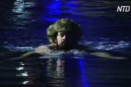Естонці встановили світовий рекорд з естафетного запливу в холодній воді
