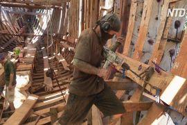 У Коста-Риці будують екологічний вітрильник для перевезення вантажів