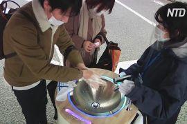 У Токіо з'явилася станція миття рук і дезінфікування смартфонів