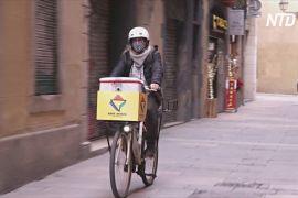 Компанія — організатор велотурів стала службою доставляння